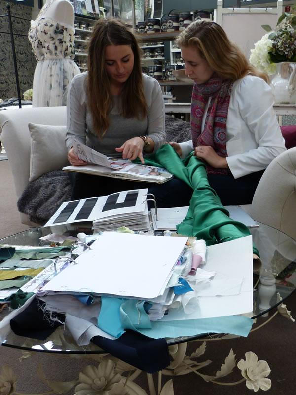 design and fabric consultation