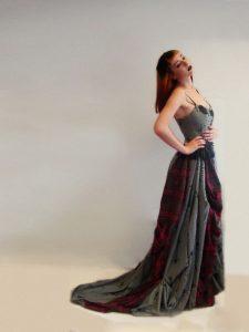 tartan bespoke dress
