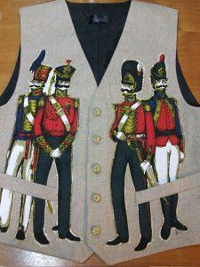 bespoke waistcoat groom
