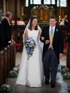 Silk zibelene wedding dress