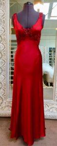 Bias silk dress