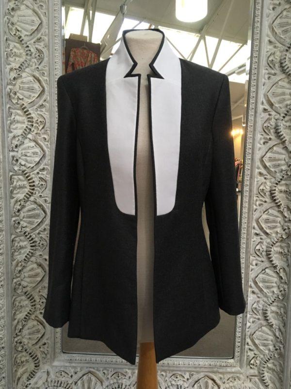 Crisp tailored jacket